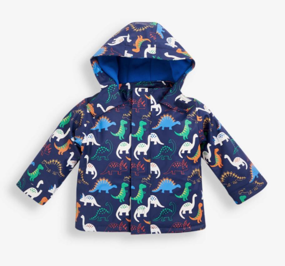 dino jacket (fleece lined)