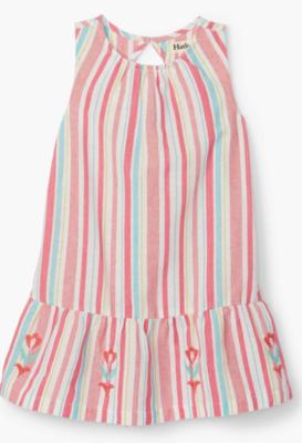 Pink Lemonade Stripe Sleeveless Dress