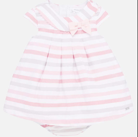Rose Stripes Dress