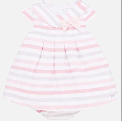 Rose Stripes Dress