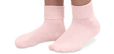 jeffries kids socks - coral 12-6 1/2