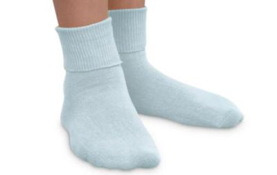 jeffries kids socks - light blue 12-6 1/2