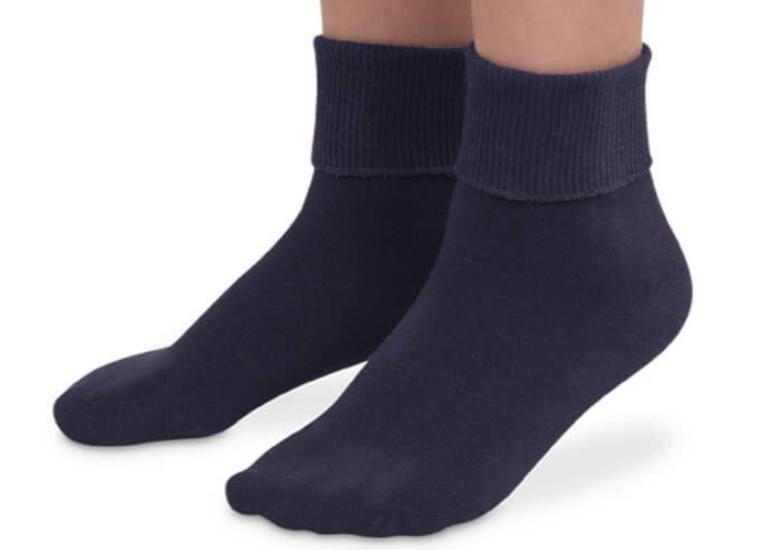 jeffries kids socks - navy 9-1