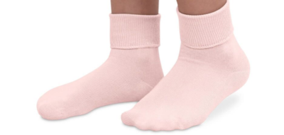 jeffries kids socks - pink 9-1