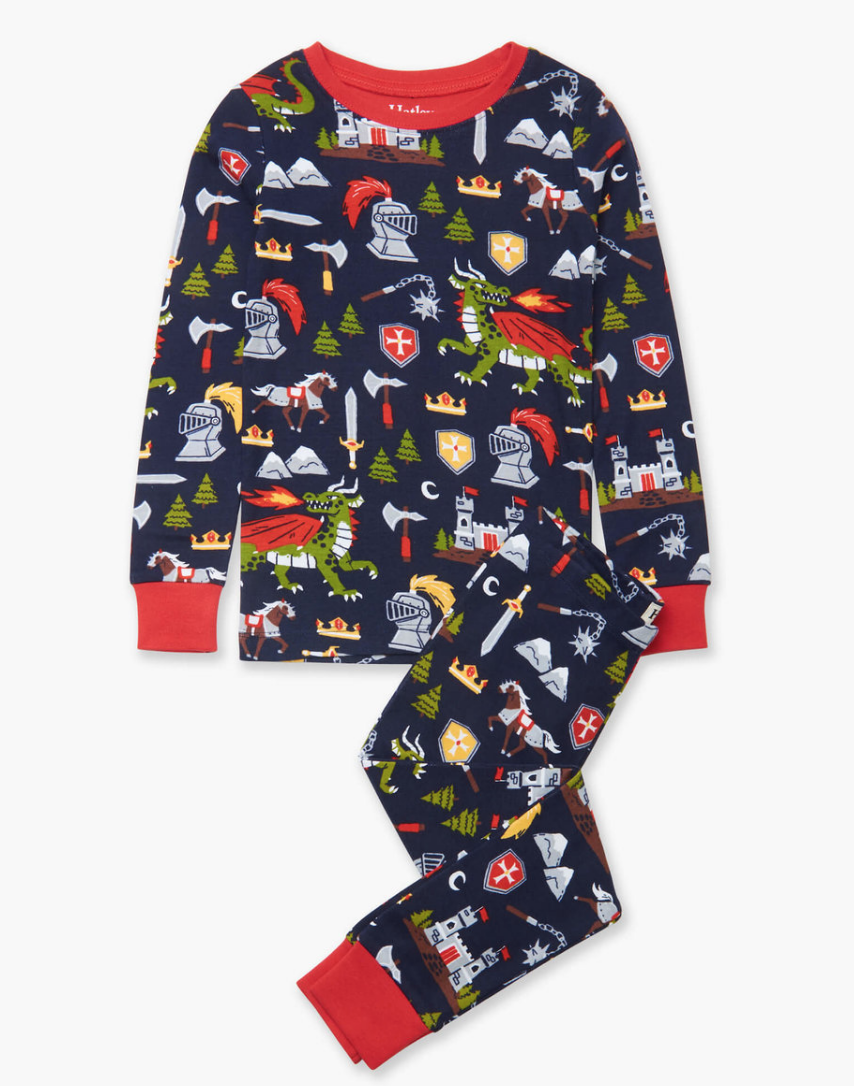 Knights and Dragons PJ set