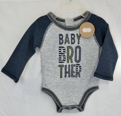 Baby Brother bodysuit 0-3mos