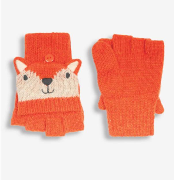knit glove mittens 0-12mos