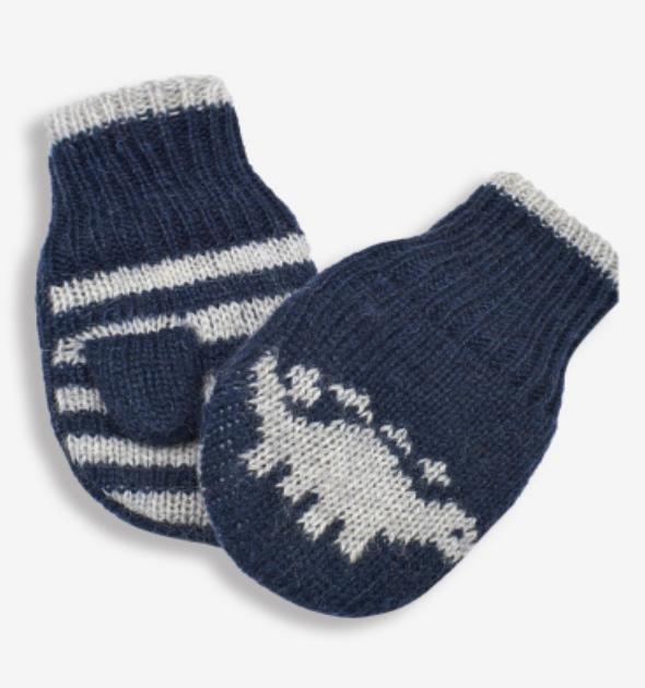fleece lined mittens 0-12mos