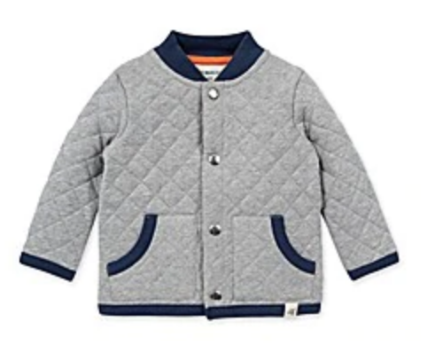 Quilted Jacket Heather Grey