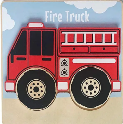 Begin Again Chunky 5 Piece Vehicle Puzzle