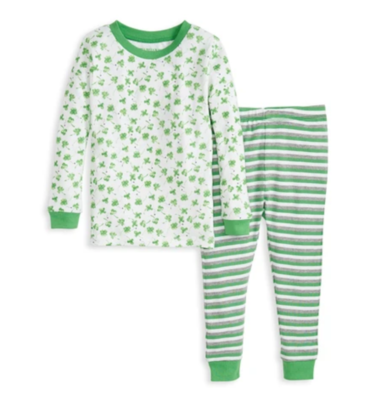 Lucky Clovers Tee and Pant PJ set