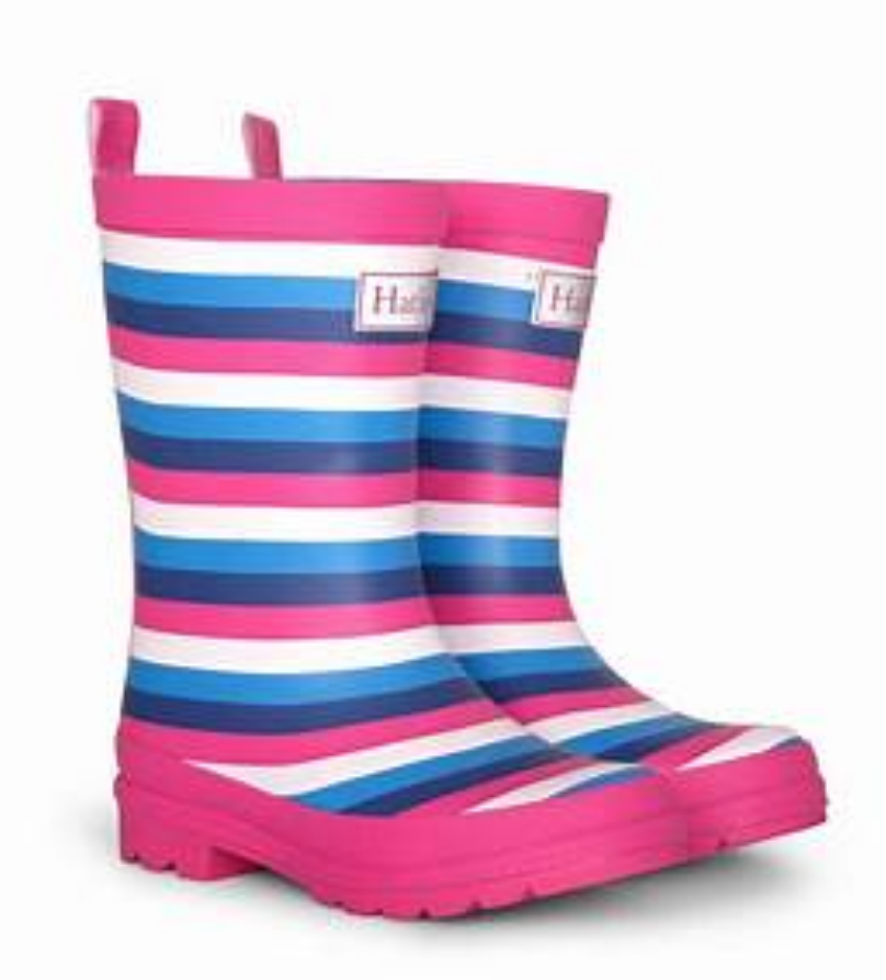rain boots - Summer Stripes 6