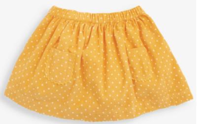 Dotty Cord Skirt