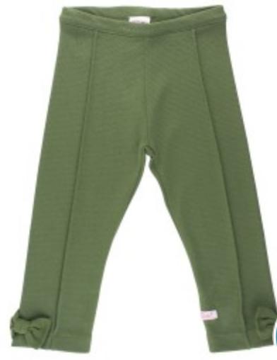 Moss Ponte Pants