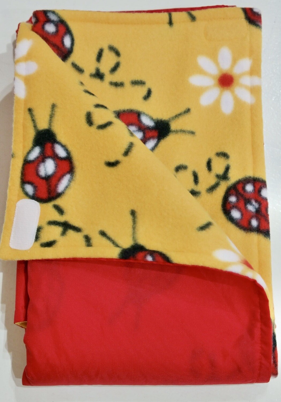 Pitt Patt Blanket 18C-Red/Ladybug