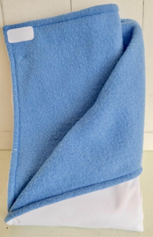 Pitt Patt Blanket 27C-White/Blue