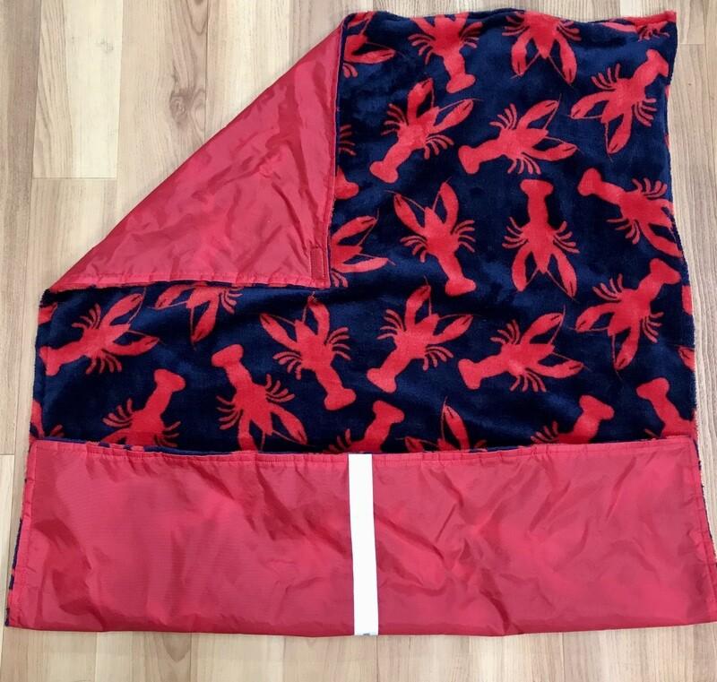 Pitt Patt Blanket 1C-Red/Lobster