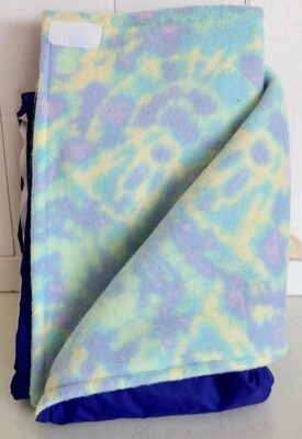 Pitt Patt Blanket 24C-Blue/TieDye