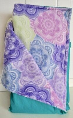 Pitt Patt Blanket 49C-Aqua/Mandala