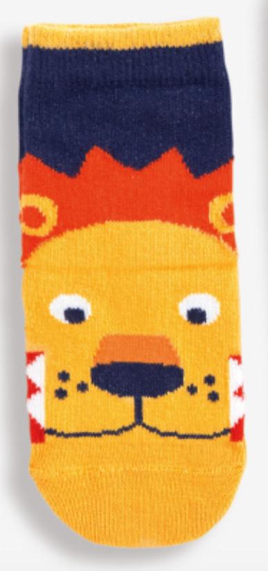 Lion Socks (1-2yr)