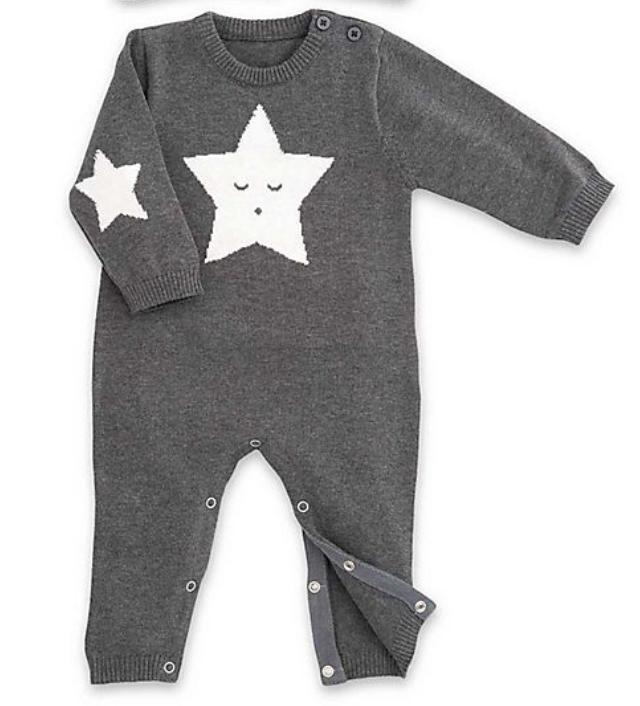 Star Jumpsuit-Charcoal