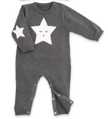 Star Jumpsuit-Charcoal