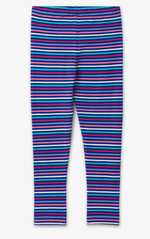 Rainbow stripe leggings size 3