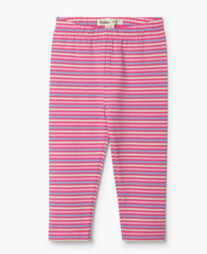 rose stripe leggings
