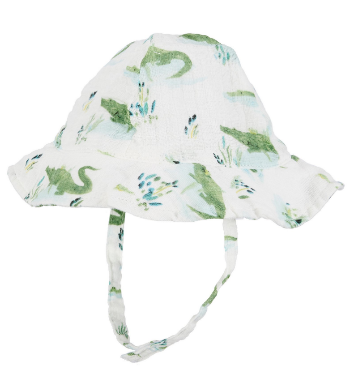 muslin sun hat - gators 6-12