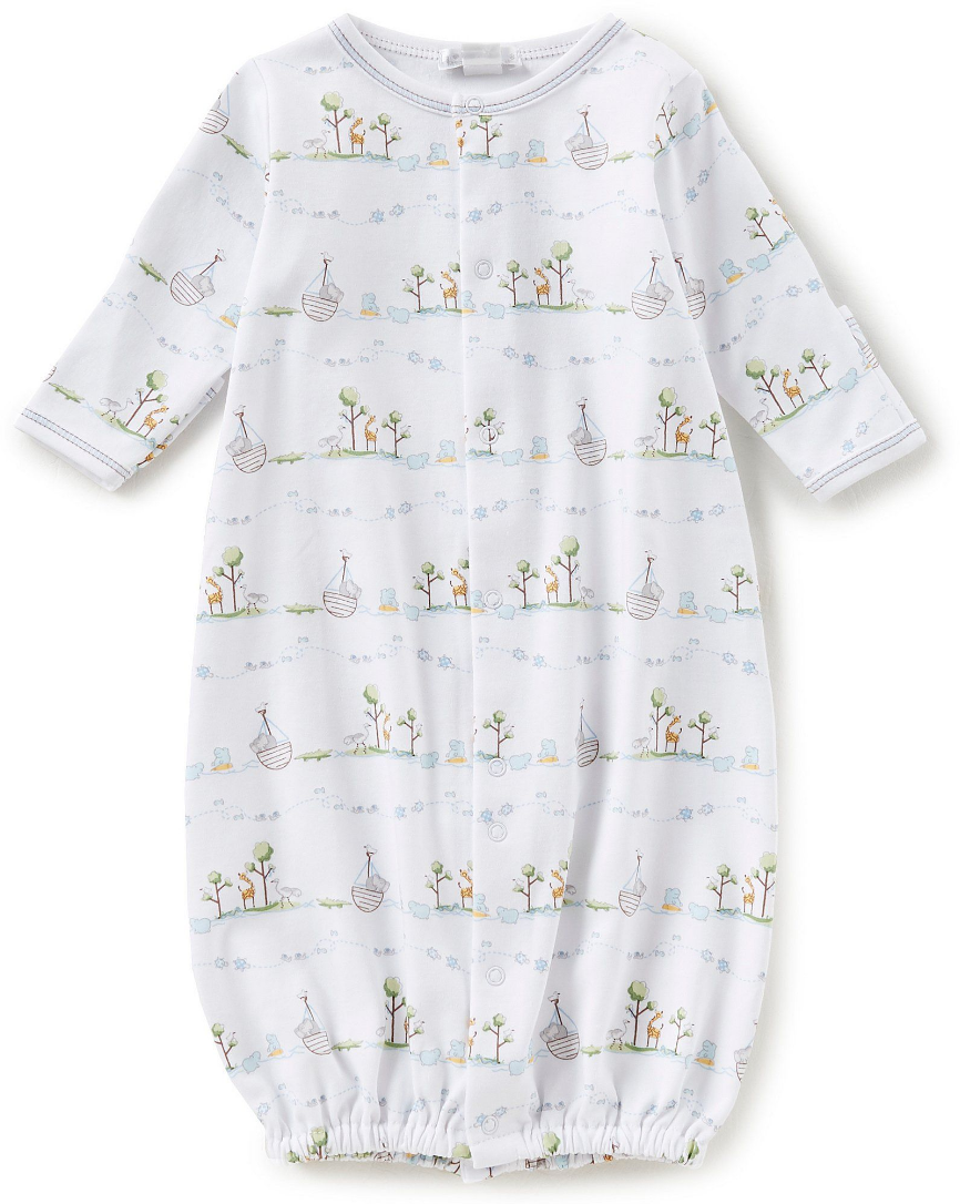 Kissy Kissy Footie - two by two 3-6mos