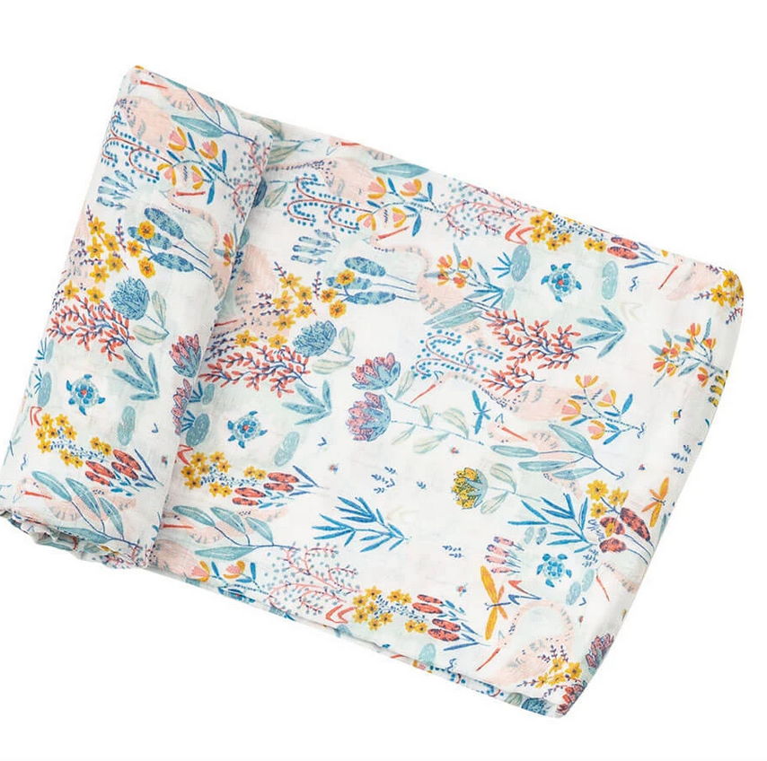 Angel Dear Bamboo Swaddle Garden