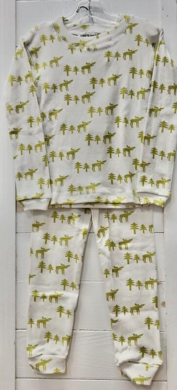 Thingamajiggies 4 Kids 2 pc l/s Pajamas #101 - 12 moose