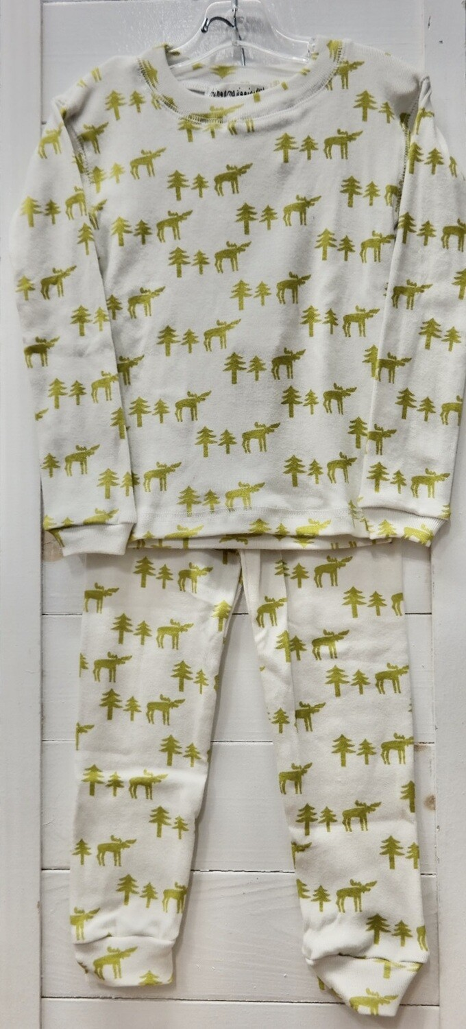 Thingamajiggies 4 Kids 2 pc l/s Pajamas #101 - 10 moose