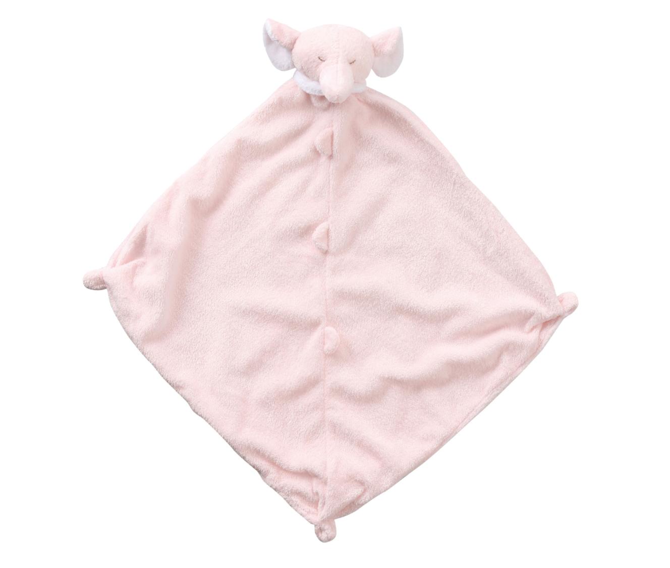 Angel Dear Blankie pink elephant