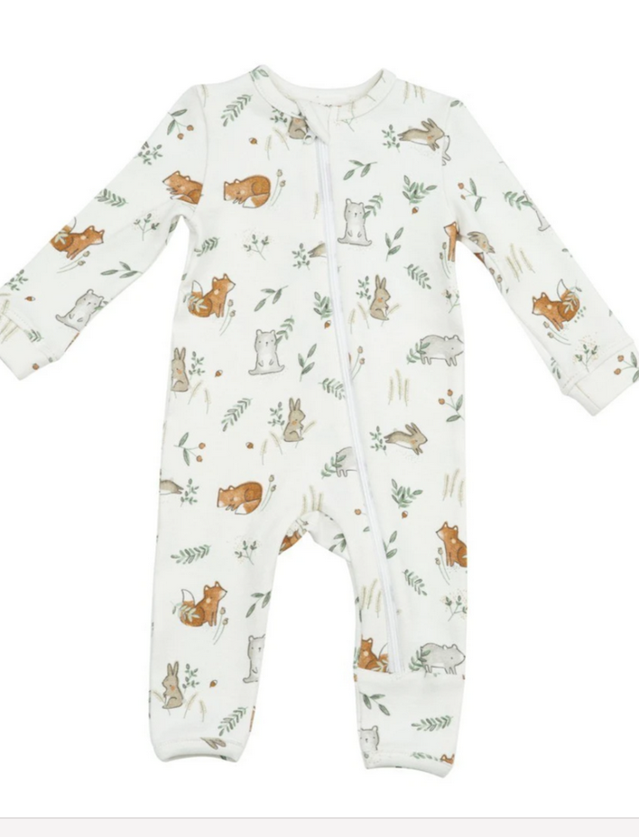 Angel Dear Romper Delicate Woodland 3-6mo