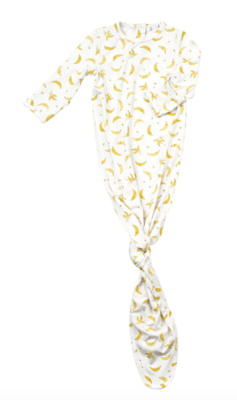 Angel Dear Knotted Gown 0-3mo Bananas