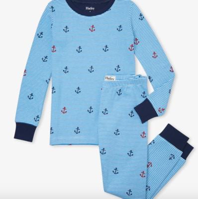 Anchors Away Organic Cotton Pajama Set