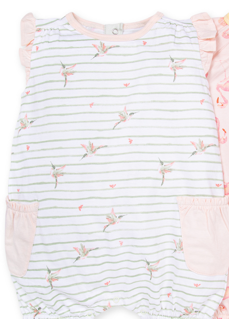 Happy Hummingbird Bubble Romper