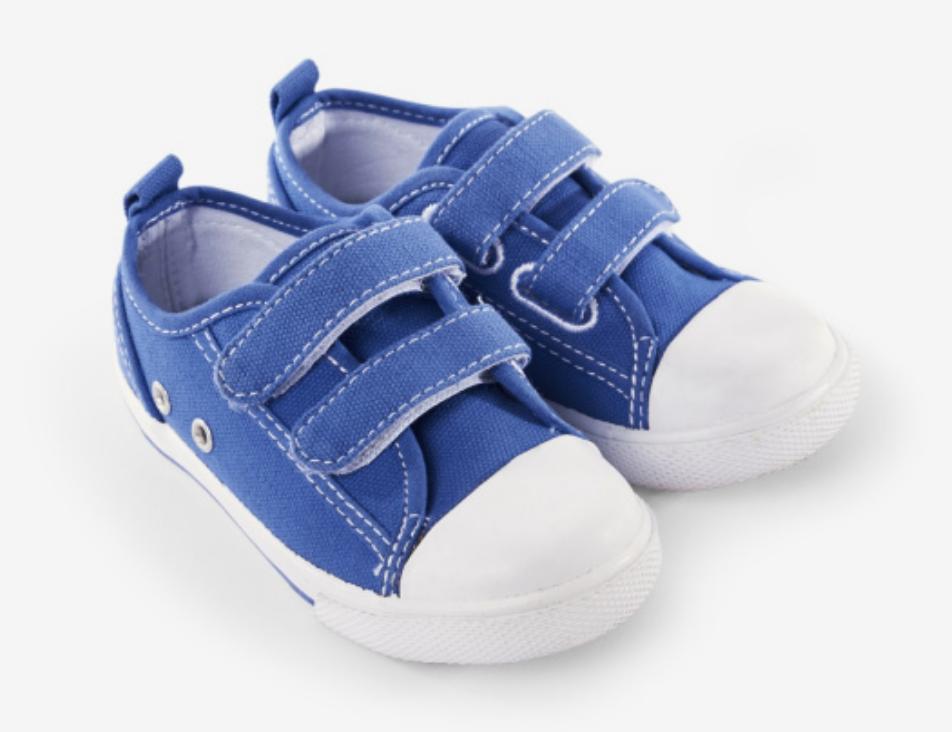 royal blue canvas sneaker size 5