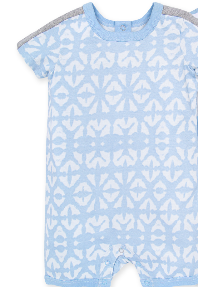Diamond Shibori shortall