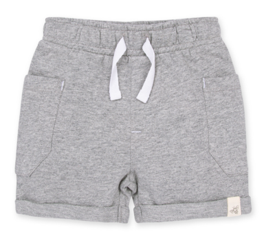 French Terry Rolled Cuff Short
