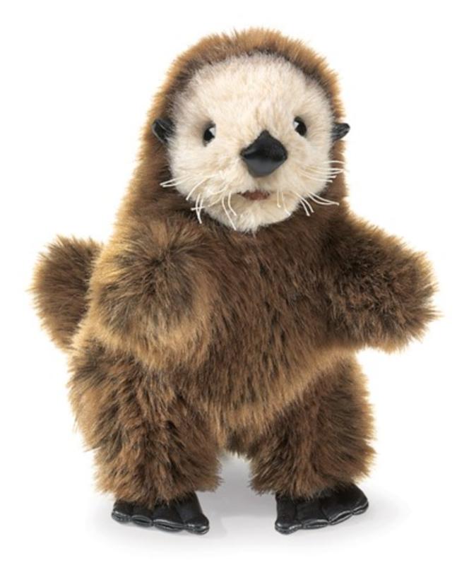 Folkmanis Baby Sea Otter Puppet