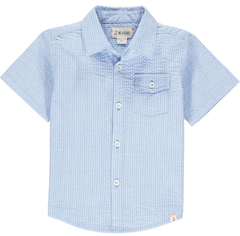 Seersucker Newport s/s shirt