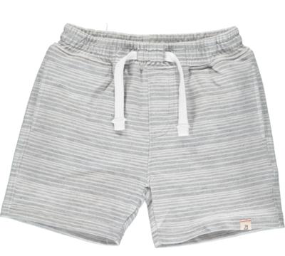 Bluepeter sweatshorts grey/white stripes