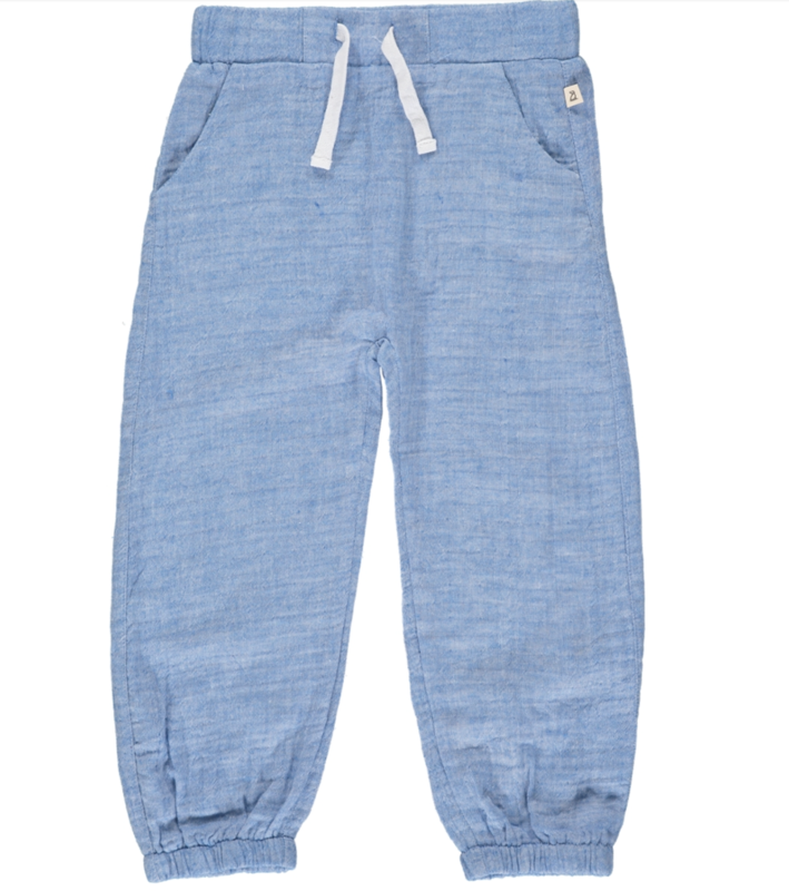 Bosun gauze pants pale blue