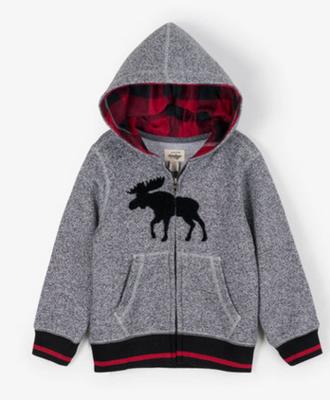 Grey Moose Kids Heritage Full Zip Hoodie