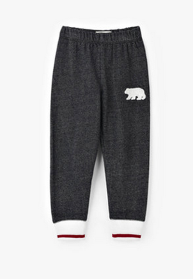 Charcoal Bear Heritage Kids Joggers