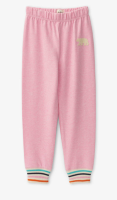 Pink Bear Kids Heritage Slim Fit Joggers