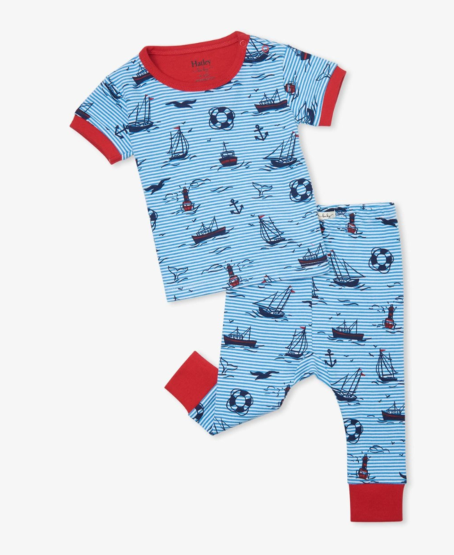 Out at Sea s/s pajama set