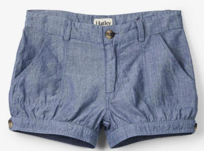 Chambray Bloomer Shorts